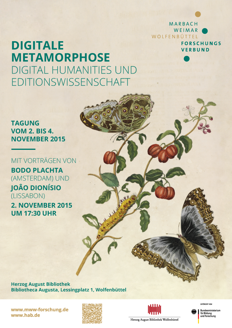 "Plakat zur Tagung ""Digitale Metamorphose"""